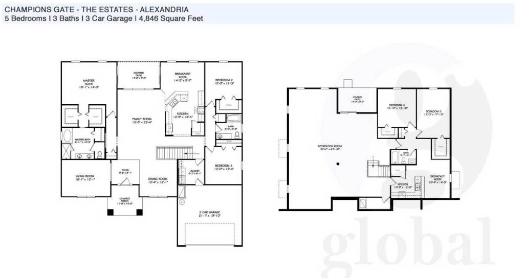 alexandria Floor Plan