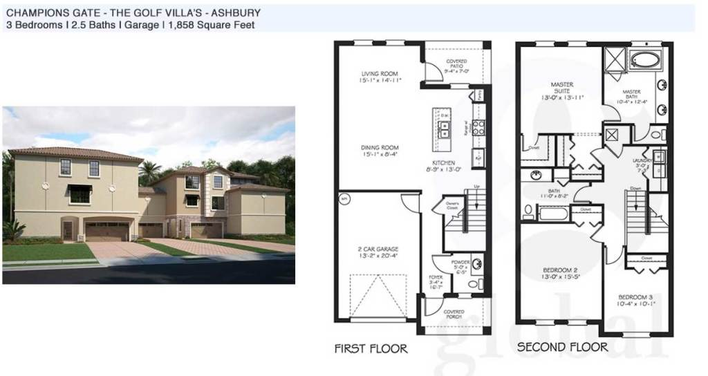 ashbury Floor Plan
