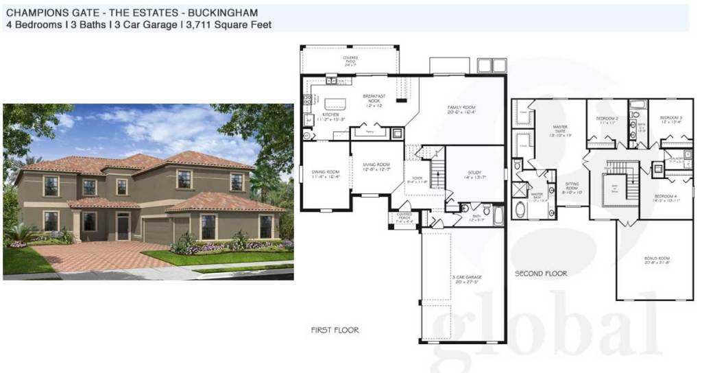 buckington Floor Plan