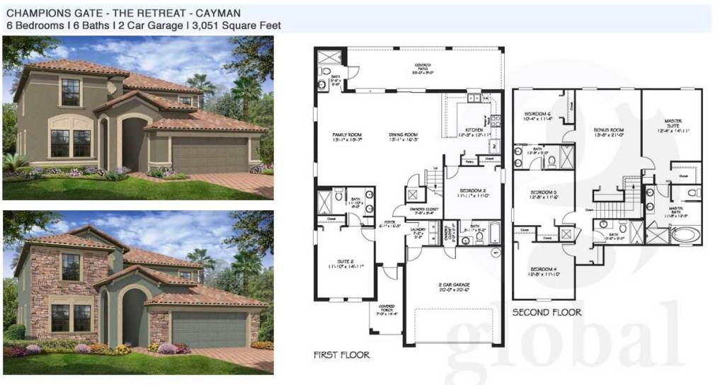 cayman Floor Plan