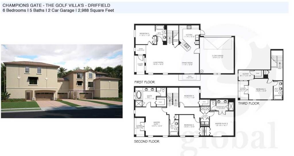 driffield Floor Plan