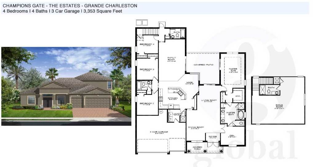 grande charleston Floor Plan