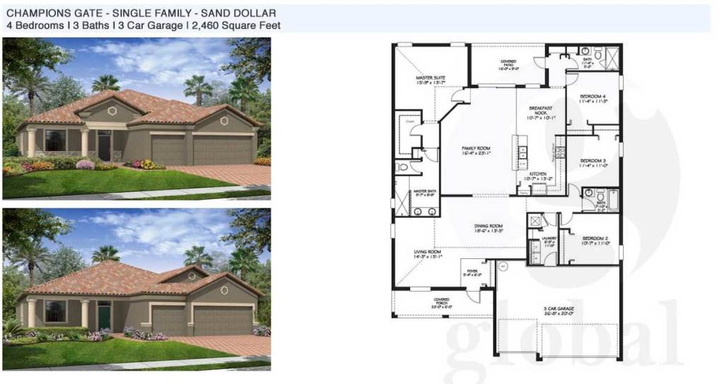 sand dollar Floor Plan