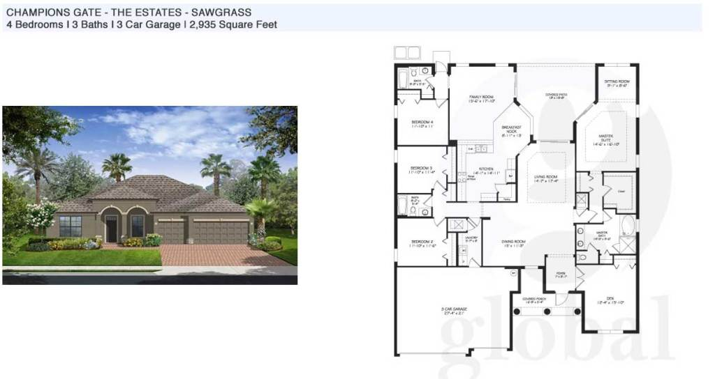 sawgrass Floor Plan