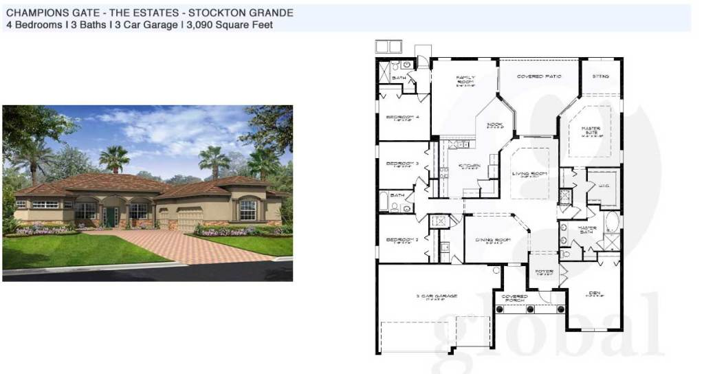stockton grande Floor Plan