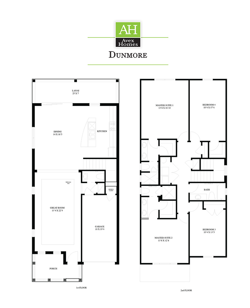 dunmore Floor Plan