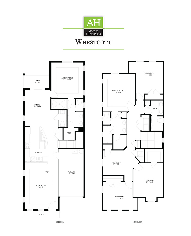 whestcott Floor Plan