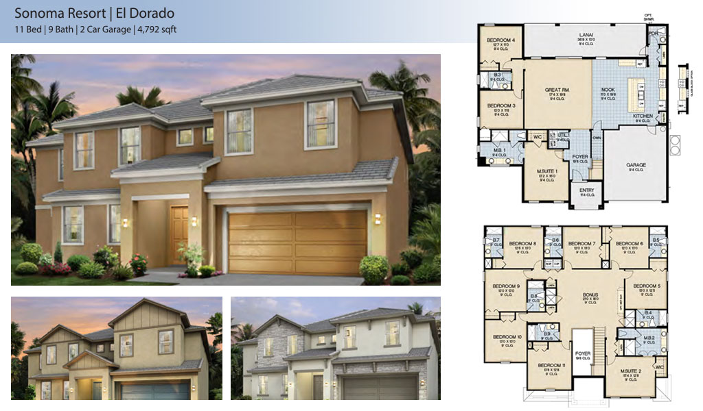 el dorado Floor Plan