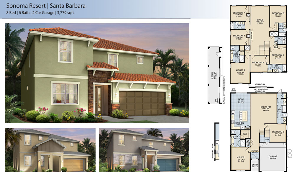 santa barbara Floor Plan