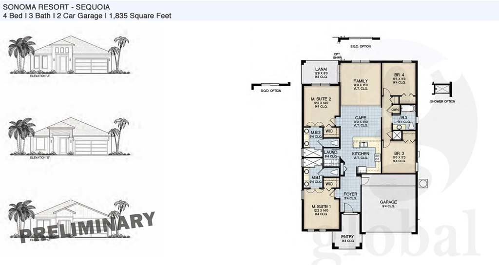 sequoia Floor Plan