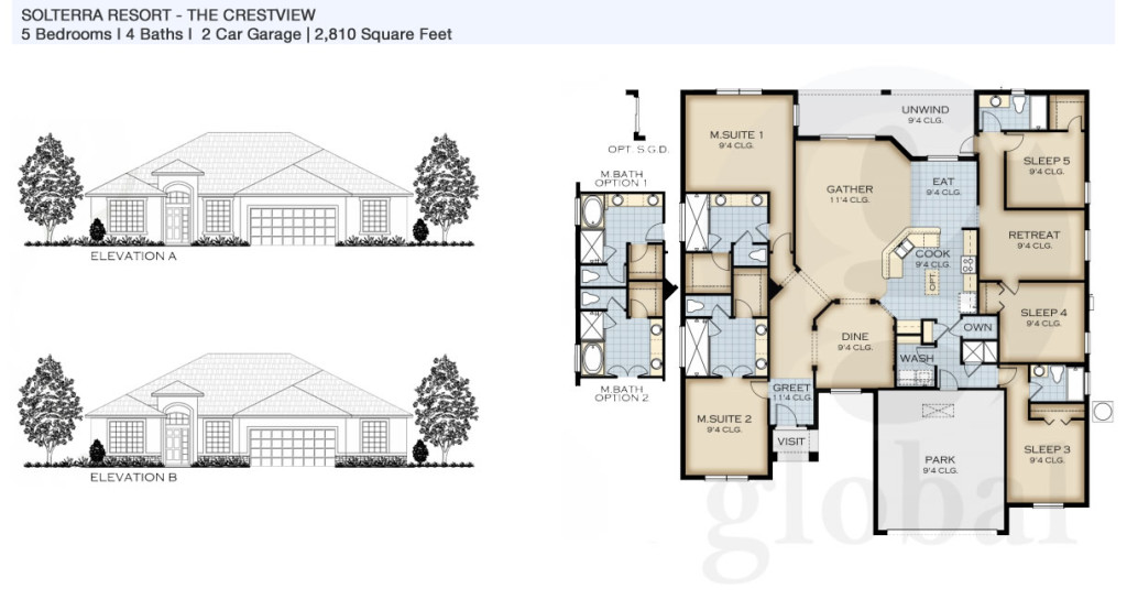 crestview Floor Plan